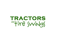 tractors and tire swings