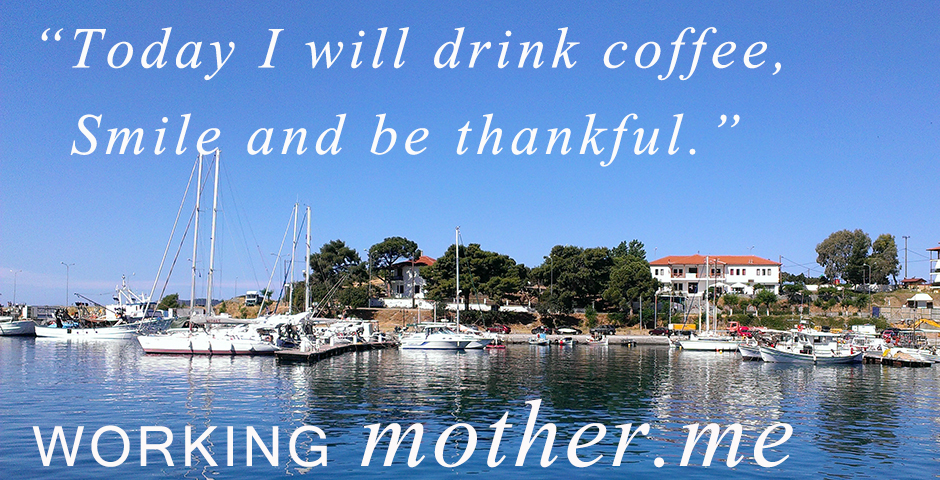 Thursday Morning Coffee Thought on Being Thankful