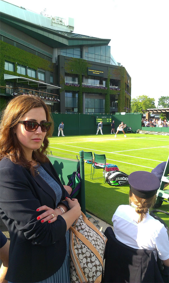 Wimbledon is a wonderful place to be at!